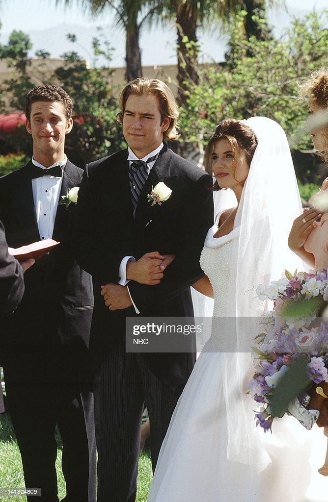 Saved By The Bell Wedding In Las Vegas1 Immagine Inserire Inserireacquista Dustin Diamond As Screech S Mark Paul Gosselaar Zack Morris