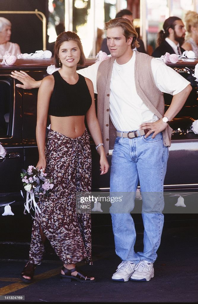 saved by the bell wedding in las vegas pictures getty