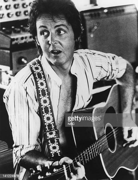 Musician Paul McCartney Photo by NBCU Photo Bank