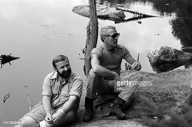 PLACES Air Date Pictured Allen Smith of the Sierra Club host/actor Paul Newman in the White Mountain National Forest near Pinkham Notch NH during the...