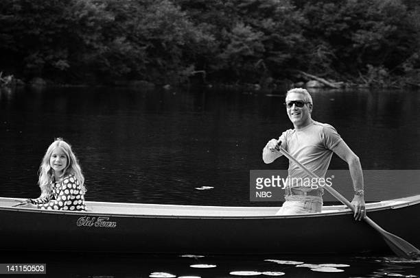 PLACES Air Date Pictured Clea Newman with father host/actor Paul Newman in the White Mountain National Forest near Pinkham Notch NH during the...