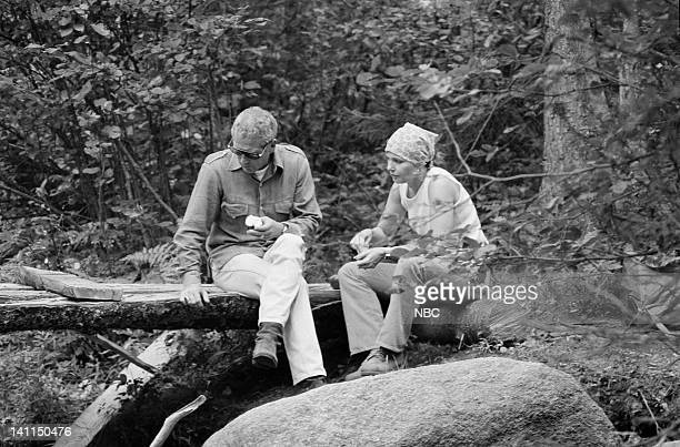 PLACES Air Date Pictured Hosts husband and wife actors Paul Newman and Joanne Wooodward in the White Mountain National Forest near Pinkham Notch NH...