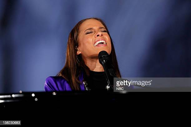 CENTER Air Date Pictured Alicia Keys Alicia Keys performs for Christmas in Rockefeller Center