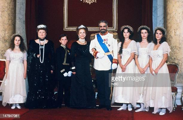 Jennifer Dundas as Grand Duchess Anastasia Olivia de Havilland as Dowager Empress Maria Christian Bale Tsarevich Alexei Claire Bloom as Czarina...