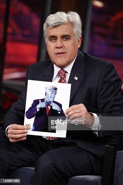 SHOW Air Date Episode 66 Pictured Host Jay Leno during an interview on December 17 2009 Photo by Justin Lubin/NBCU Photo Bank