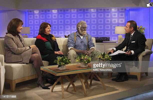 "Air Date 1/7/08 -- Pictured: NBC News Chief Medical Editor Nancy Snyderman, Jackie Northup and Paul Karason talk exclusively with NBC News' ""Today""..."