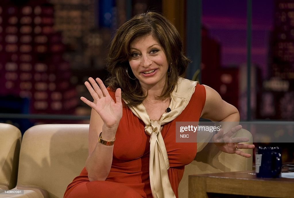 Maria bartiromo s boobs on jay leno