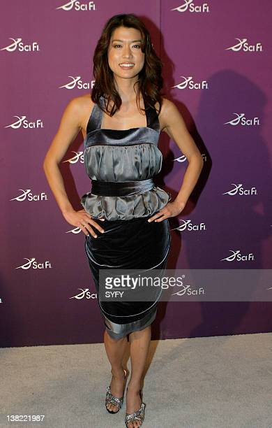 """Air Date 3/18/08 -- Pictured: """"Battlestar Galactica"""" actress Grace Park at the SCI FI Channel Upfronts on March 18, 2008"""