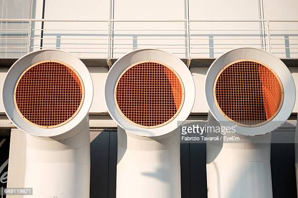Air Ducts Outside Building