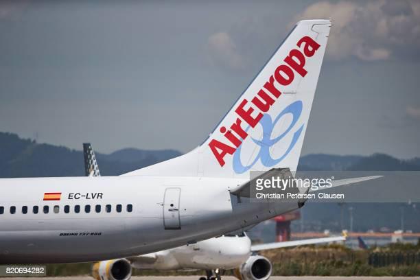Air Europa 737 tailfin