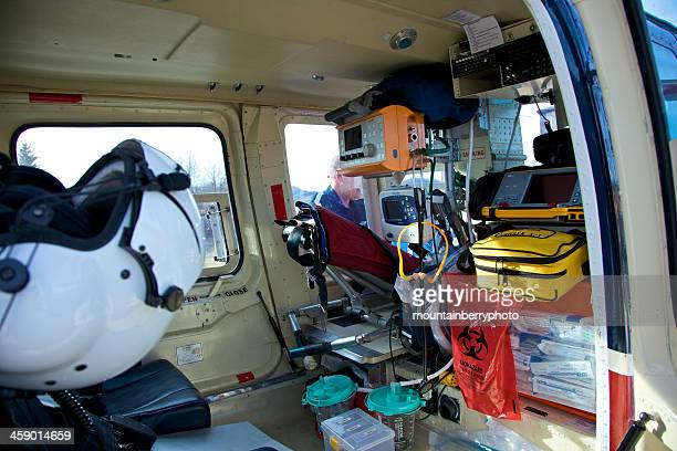 air evac - inside helicopter stock pictures, royalty-free photos & images