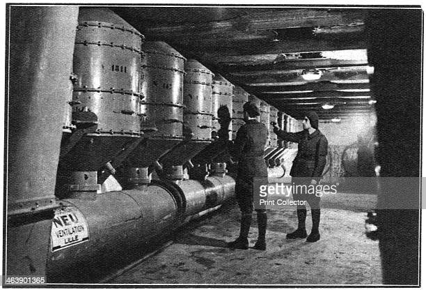Air filters Maginot Line France 1939 Conceived by Andre Maginot as an impegnable wall on France's eastern frontier the Maginot Line was a vast linked...