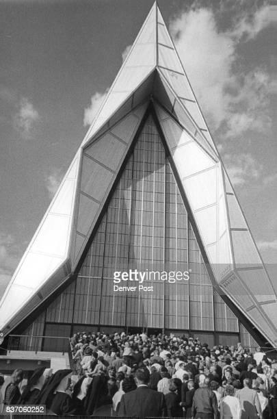Air Force Academy Bldgs Chapel Credit Denver Post