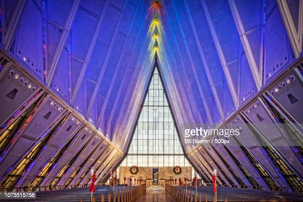 Air Force Academy Chapel at Christmas
