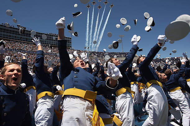 VP Biden Gives Commencement Address At The US Air Force Academy Graduation