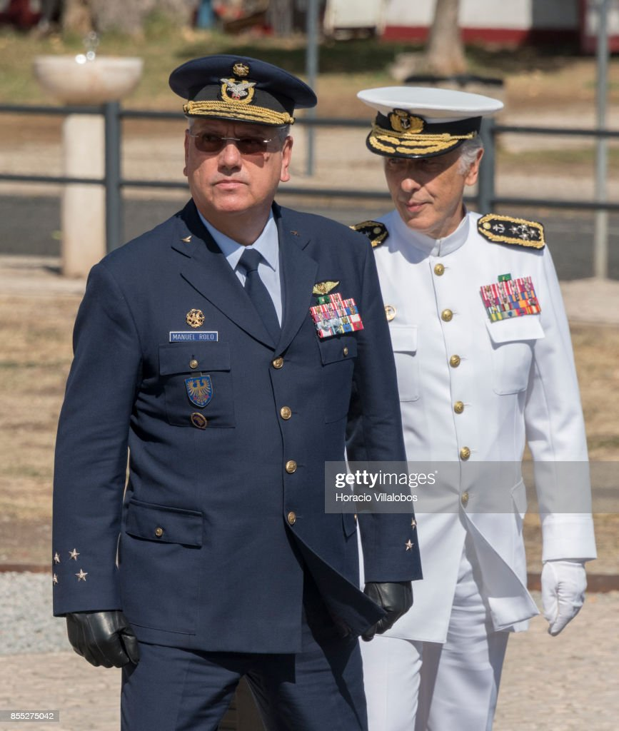 Air Force Chief of Staff General Manuel Teixeira Rolo and