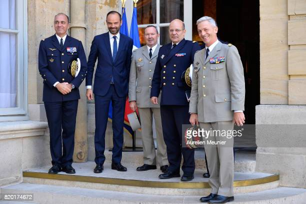 Air Force Commander in Chief General Andre Lanata French Prime Minister Edouard Philippe Land Forces Commander in Chief General Jean Pierre Bosser...