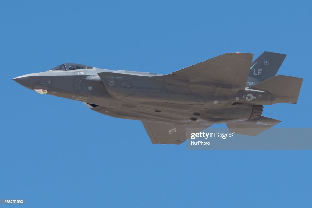US Air Force showcases F-35 in a public display