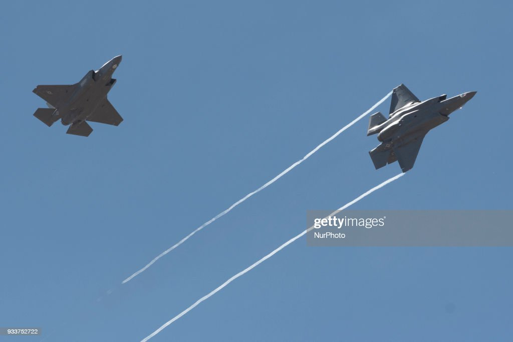 US Air Force showcases F-35 : News Photo