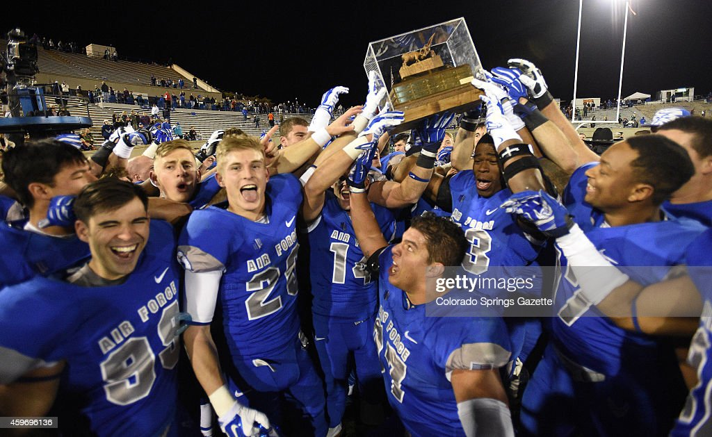 Colorado State at Air Force Academy : News Photo