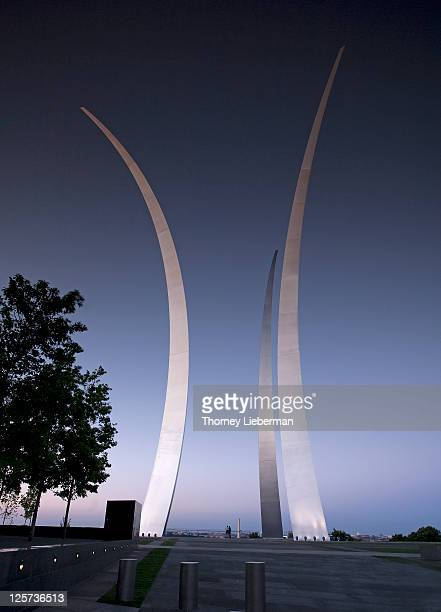 air force memorial - air force memorial stock pictures, royalty-free photos & images