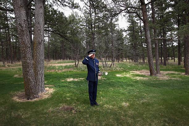 Burial Service Held For Air Force Pilot Maj. David Brodeur Killed In Afghanistan