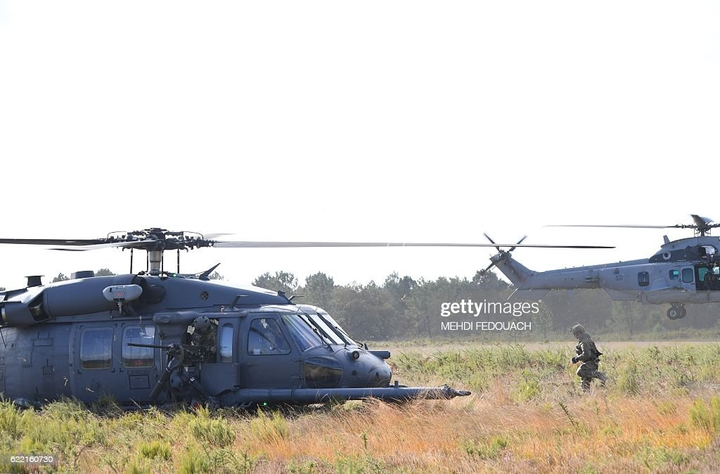 Air Force Pavehawk helicopter from the 57TH Rescue Squadron and a