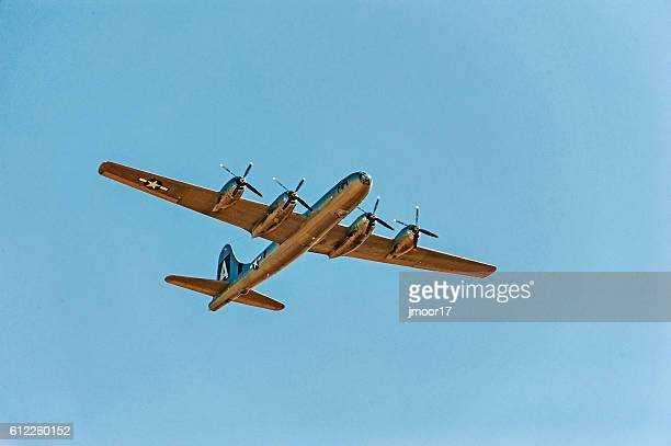 air force plane b-29 super fortress fifi - b 29 superfortress stock photos and pictures
