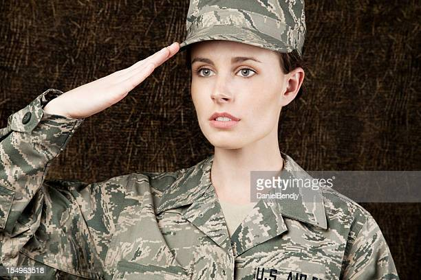 us air force series: american airwoman - lieutenant stock pictures, royalty-free photos & images