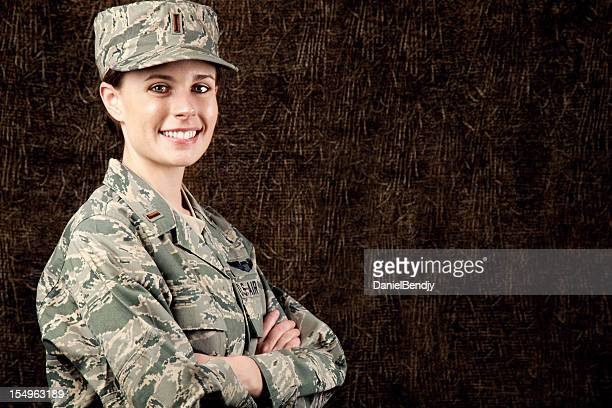 US Air Force Series: American Airwoman Smiling