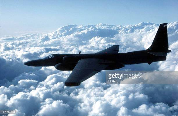 A US Air Force U2 spy plane flies in this undated file photo Iraq's UN ambassador Mohamed Aldouri has said that Iraq will unconditionally accept a UN...