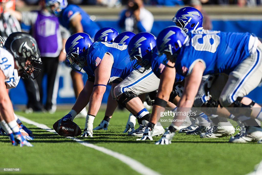 Image result for air force falcons football offensive line