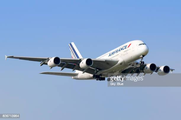Air France A380 aircraft