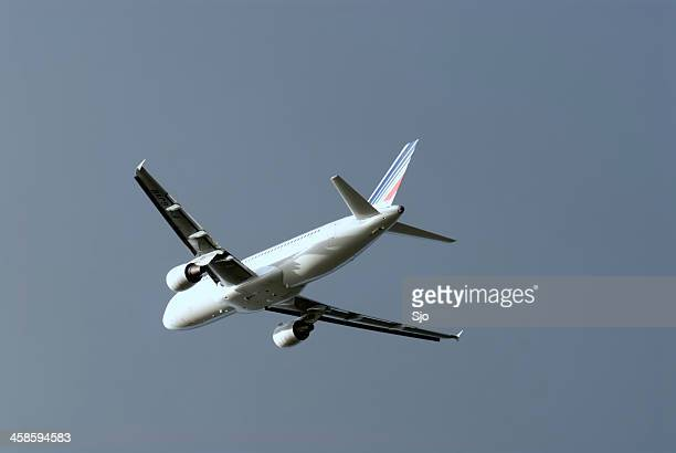 Air France Airbus in flight
