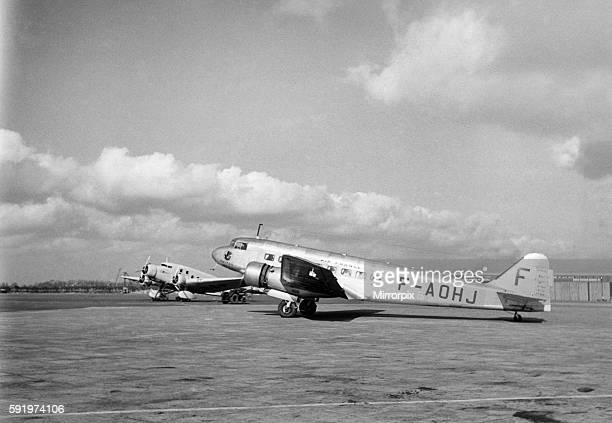 Air France operated a total of sixteen of these advanced airliners some survived WW2 This Air France Bloch 220 was pictured at Croydon during 1939...