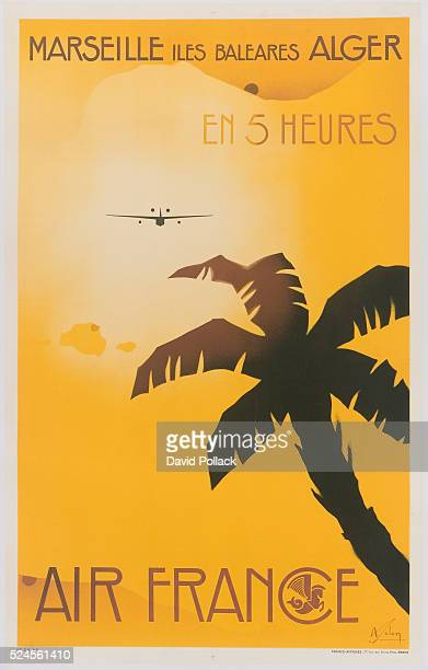 Air France Poster by Albert Solon