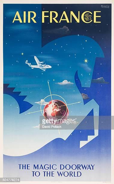Air France Poster by Badia Vilato