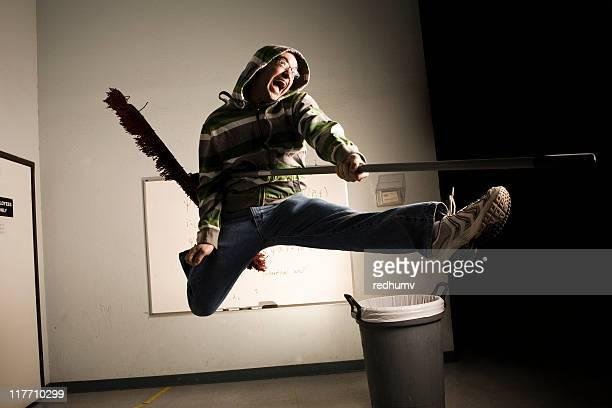 Air Guitar Janitor