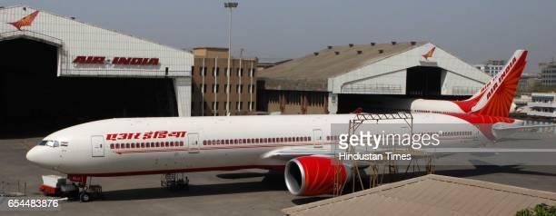 Air India Aircraft parked at Chatrapati Shivaji International Airport Mumbai