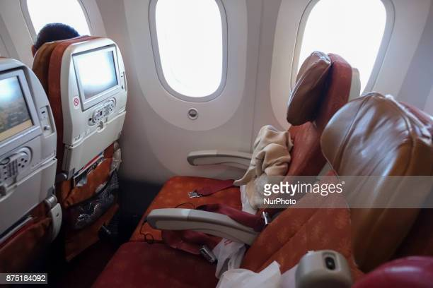 Air India is one of the first carriers who tested and used the Boeing 787 Dremaliner AI owns 27 of them in a 18 business and 238 economy seat...