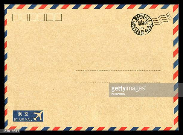 Air mail envelope background