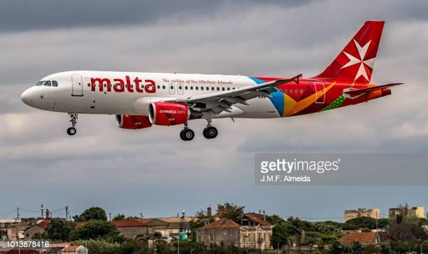 9H-AHS Air Malta Airbus A320-200