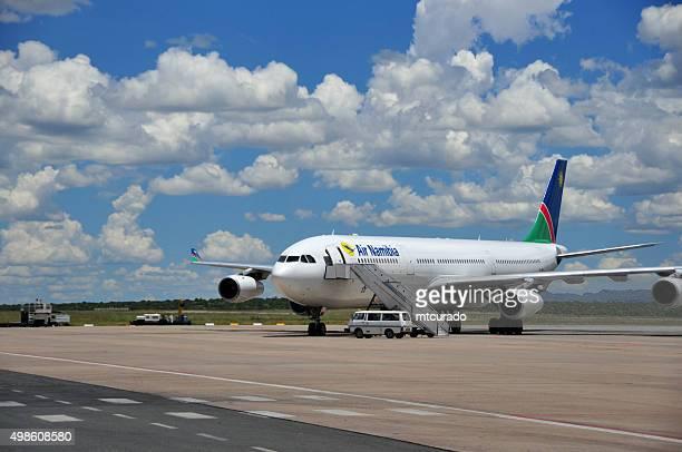 Air Flugzeuge am Flughafen Windhoek, Namibia