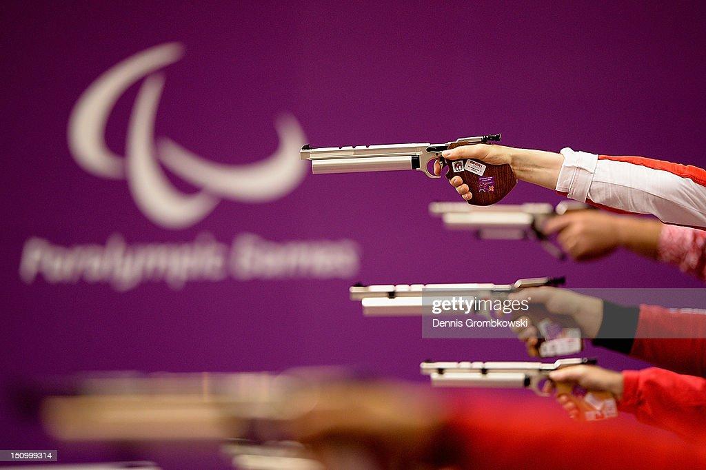2012 London Paralympics - Day 1 - Shooting : ニュース写真