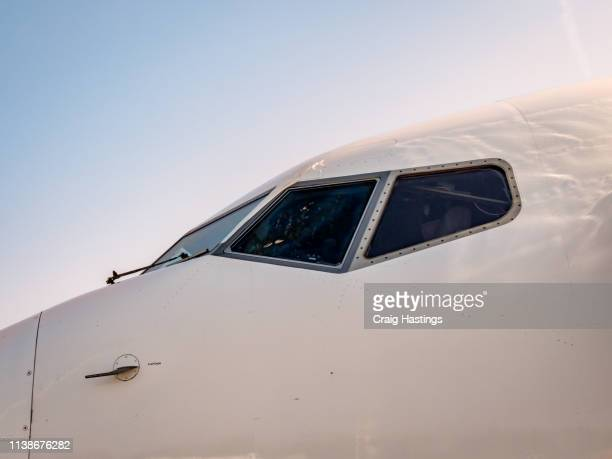 air plane cockpit - fuselage stock pictures, royalty-free photos & images