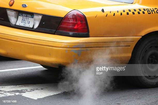 Air pollution Exhaust fume in NY