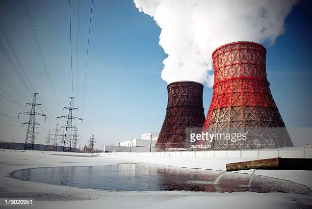 Air pollution in a nuclear power plant
