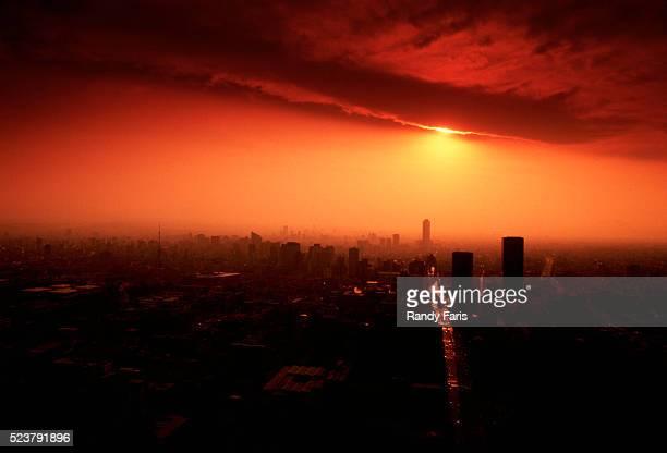 Air Pollution over Mexico City