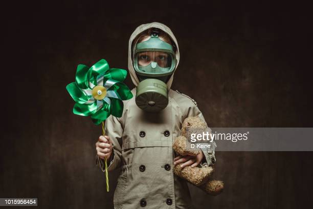 air pollution - gas mask stock pictures, royalty-free photos & images