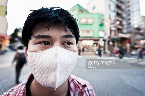 air pollution - air respirator mask stock pictures, royalty-free photos & images